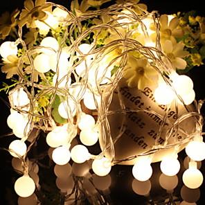 cheap LED String Lights-10m String Lights Outdoor String Lights 100 LEDs 1 set Warm White Decorative 220-240 V