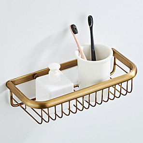 cheap Faucet Accessories-Bathroom Shelf Creative Modern Brass 1pc - Bathroom Single Wall Mounted