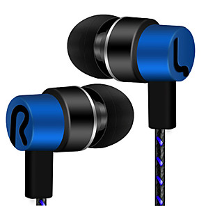 cheap On-ear & Over-ear Headphones-LITBest Wired In-ear Earphone Wired Stereo Mobile Phone