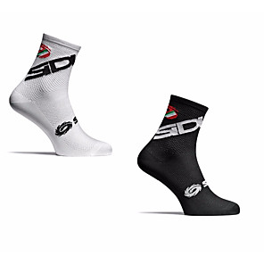cheap Soccer Shoes-Men's Women's Athletic Sports Socks Cycling Socks Compression Socks Windproof Breathable Quick Dry Black White Winter Road Bike Mountain Bike MTB Running Stretchy / Road Bike Cycling