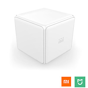 cheap Home Security System-Aqara Magic Cube Controller Zigbee Version Controlled by Six Actions For Smart Home Device Work with Mijia Home App