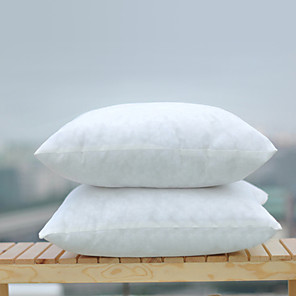 cheap Sale-1 pcs Polyester Nonwovens Pillow Insert, Textured Fashion Modern Throw Pillow