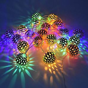 cheap LED String Lights-3m String Lights 20 LEDs Warm White / RGB / White Creative / Party / LED Christmas Lantern / Decorative 5 V USB 1 set