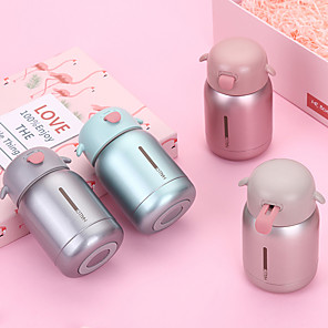 cheap Kitchen Utensils & Gadgets-Portable Mini Thermos Bottle 304 Stainless Steel Thermos Mug Vacuum Flask