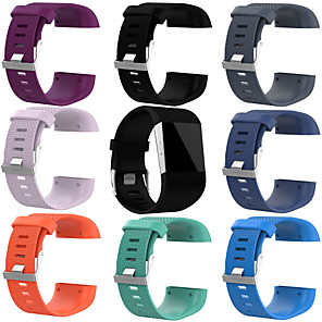 cheap Smartwatch Bands-Watch Band for Fitbit Surge Fitbit Sport Band Silicone Wrist Strap