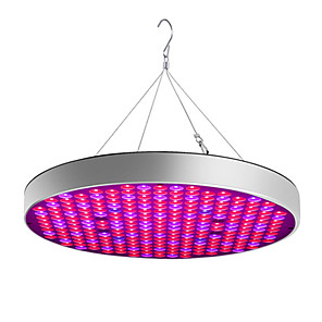 cheap Plant Growing Lights-Grow Light LED Plant Growing Light Full Spectrum Easy Install  85-265V 30W 2400lm 250 LED Beads For Greenhouse Hydroponic Cabinet Vegetable Greenhouse