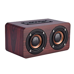 cheap Portable Speakers-Bluetooth speaker Wired Speaker Outdoor Portable Woodiness For