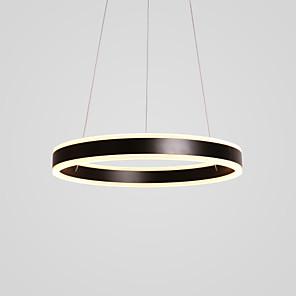cheap Circle Design-2-Light 40 cm LED Pendant Light Metal Acrylic Circle Painted Finishes Modern Contemporary 110-120V / 220-240V
