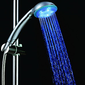cheap Movie & TV Theme Costumes-3-Color Temperature Sensitive LED Color Changing Hand Shower