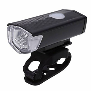 cheap Bike Lights & Reflectors-LED Bike Light Front Bike Light Headlight XP-G2 Mountain Bike MTB Bicycle Cycling Waterproof Multiple Modes Portable Easy to Install Li-polymer 300 lm Rechargeable Battery White Camping / Hiking