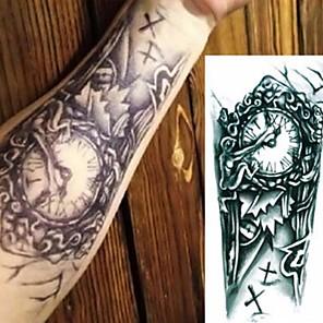 cheap Tattoo Stickers-3 pcs Temporary Tattoos Water Resistant brachium Tattoo Stickers