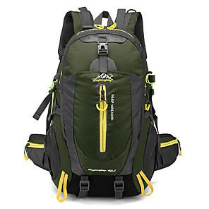 cheap Backpacks & Bags-40 L Hiking Backpack Multifunctional Waterproof Rain Waterproof Wearable Outdoor Camping / Hiking Climbing Traveling Terylene Mesh Nylon Black Red Light Green / Yes