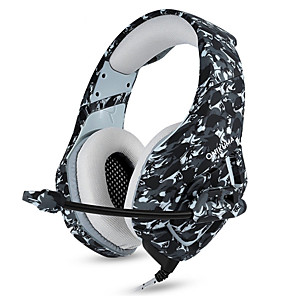 cheap Gaming Headsets-LITBest Gaming Headset Wired Stereo with Microphone with Volume Control HIFI for Gaming
