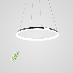 cheap Dimmable Ceiling Lights-1-Light 40 cm LED Pendant Light Metal Acrylic Circle Others Modern Contemporary 110-120V / 220-240V