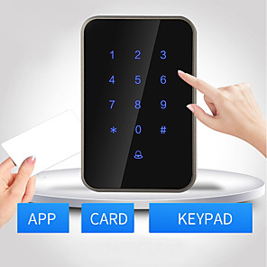 cheap Video Door Phone Systems-Bluetooth,RFID.Password unlocking Others / Access Controller / Card Reader Password unlocking / RFID card unlocking / Bluetooth unlocking Apartment / School / Hotel