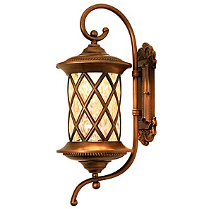 povoljno Dizajn kruga-QIHengZhaoMing LED Outdoor zidna rasvjeta Magazien / Cafenele / Ured Metal zidna svjetiljka 110-120V / 220-240V 5 W