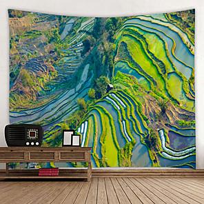 cheap Bathroom Sink Faucets-Garden Theme Wall Decor 100% Polyester Modern Wall Art, Wall Tapestries Decoration