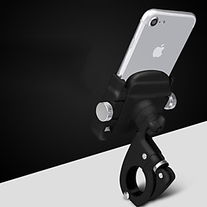 cheap Mounts & Holders-Bike Phone Mount Adjustable / Retractable Anti-Slip Universal for Road Bike Mountain Bike MTB Aluminum Alloy iPhone X iPhone XS iPhone XR Cycling Bicycle Black Silver