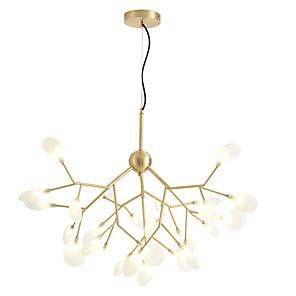 cheap Globe Design-27-Light ZHISHU 80 cm Chandelier Copper Glass Sputnik / Industrial Brass Nature Inspired / Chic & Modern 110-120V / 220-240V