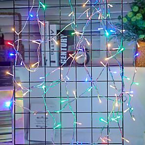 cheap LED String Lights-50m String Lights 400 LEDs 1 set Cold White / Red / Blue Waterproof / Creative / Party 220-240 V / 110-120 V / IP44