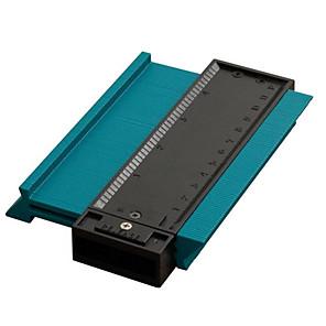 cheap Athletic Swimwear-5inch  Contour Profile Gauge Tiling Laminate Tiles Edge Shaping Wood Measure Ruler ABS Contour Gauge Duplicator