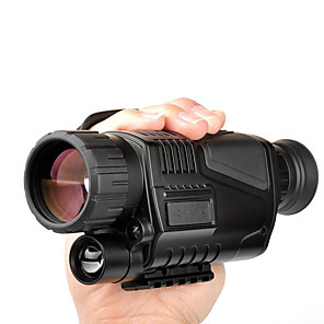 cheap CCTV Cameras-LUXUN® 5 X 40 mm Monocular Lenses Waterproof High Definition Antiskid BAK4 Hunting Performance Camping PP+ABS / Bird watching / Night Vision