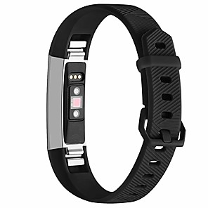 cheap Smartwatch Bands-Watch Band for Fitbit Alta HR / Fitbit Ace / Fitbit Alta Fitbit Sport Band Silicone Wrist Strap