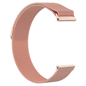 cheap Smartwatch Bands-Watch Band for Fitbit Versa / Fitbit Versa Lite / Fitbit  Versa 2 Fitbit Milanese Loop Stainless Steel Wrist Strap