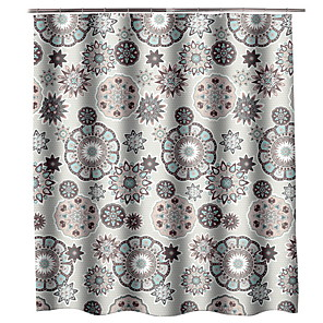 cheap Shower Curtains-Shower Curtains & Hooks Modern Nonwoven Cool
