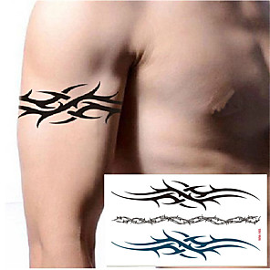 cheap Tattoo Stickers-10 pcs Temporary Tattoos Water Resistant / Best Quality Hand / brachium / Shoulder Tattoo Stickers