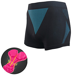 cheap Women's Cycling Underwear & Base Layer-Mountainpeak Women's Cycling Padded Shorts Bike Bottoms Breathable Sports Black Mountain Bike MTB Road Bike Cycling Clothing Apparel Form Fit Bike Wear / Stretchy