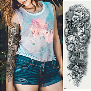 cheap Tattoo Stickers-3 pcs Temporary Tattoos Eco-friendly / Disposable Body / brachium / Back Card Paper