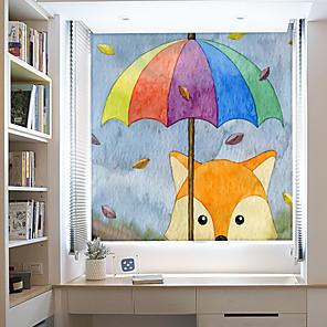 cheap Wall Stickers-Window Film & Stickers Decoration Contemporary / Animal Character PVC(PolyVinyl Chloride) Window Sticker / Anti-Glare
