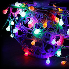 cheap LED String Lights-3m String Lights 20 LEDs 1 set Warm White / RGB / White Creative / Party / Decorative USB Powered