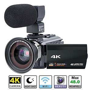 cheap CCTV Cameras-QQT P13 vlogging Removable / Party / Hot Sale 64 GB 1080P / 60fps / 120fps 16 mp 8x 1920 x 1080 Pixel 4.1 inch 16.0MP CMOS H.264 Single Shot / Burst Mode / Time-lapse No -4/3