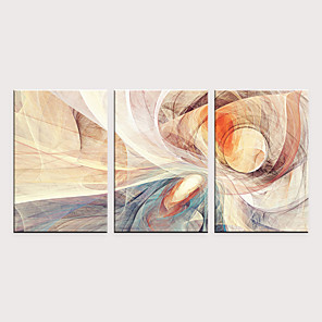 cheap Framed Arts-Print Rolled Canvas Prints - Abstract Modern Classic Three Panels Art Prints