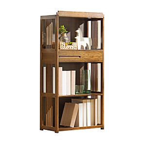 cheap Power Supply-Bamboo European Bookcase Living Room
