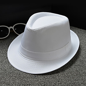 cheap Party Hats-Basketwork / Double Layer Cloth Hats / Headpiece with Cap / Solid 1 Piece Wedding / Daily Wear / Horse Race Headpiece