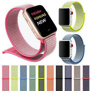 cheap Smartwatch Bands-Watch Band for Apple Watch Series 4/3/2/1 Apple Sport Band Nylon Wrist Strap