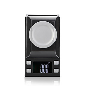 cheap Radio-50g/0.001g High Definition Portable LCD Display Digital Jewelry Scale For Office and Teaching Home life Kitchen daily
