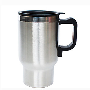 cheap Car Life Appliances-0.5L Stainless steel Car Electric Kettle Portable/Automatic power-off/automatic temperature recovery suitable for car truck homes