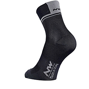 cheap Soccer Shoes-Men's Women's Athletic Sports Socks Cycling Socks Compression Socks Breathable Reduces Chafing Red and White Black / Red Green Winter Road Bike Mountain Bike MTB Running High Elasticity