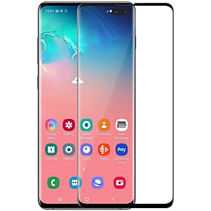 cheap Samsung Screen Protectors-Samsung GalaxyScreen ProtectorGalaxy S10 Plus High Definition (HD) Front Screen Protector 1 pc Tempered Glass