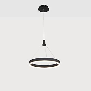 povoljno Dizajn kruga-KAKAXI 30/40/60 cm Višebojno sjenilo / Prilagodljiv Lusteri Aluminij Acrylic Cirkularno Anodized LED / Moderna 110-120V / 220-240V