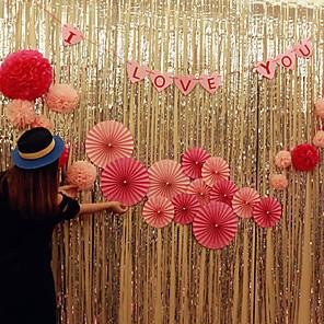 cheap Wedding Decorations-Unique Wedding Décor Plastic Wedding Decorations Christmas / Event / Party Romance / Wedding All Seasons