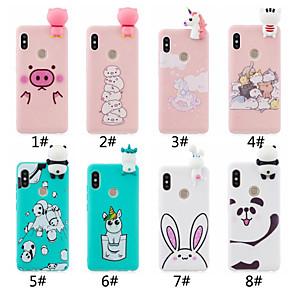 cheap iPhone Cases-Case For Xiaomi Xiaomi Redmi Note 5A / Xiaomi Redmi Note 5 Pro / Redmi 6 Frosted / DIY Back Cover Cartoon Soft TPU / Xiaomi Redmi 4A