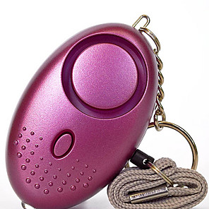 cheap Car Pendants & Ornaments-Anti Lost Alarm Personal Defense Siren Anti-attack Security Safesound for Children Older Women Carrying a Panic Alarm