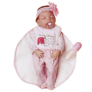 cheap Reborn Doll-NPKCOLLECTION 24 inch NPK DOLL Reborn Doll Girl Doll Baby Girl Reborn Toddler Doll lifelike Eco-friendly Gift Hand Made Child Safe Full Body Silicone with Clothes and Accessories for Girls' Birthday