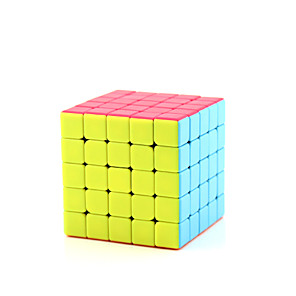 cheap Magic Cubes-Speed Cube Set Magic Cube IQ Cube Shengshou 1 Rotate Speed Fisher Cube Rainbow Cube 5*5*5 Magic Cube Puzzle Cube Office Desk Toys Geometric Pattern Teen Adults' Toy All Gift