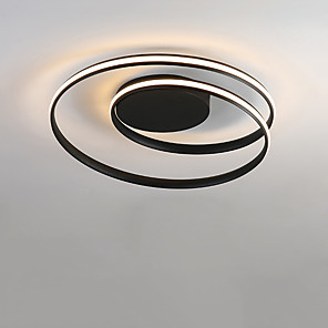 cheap Dimmable Ceiling Lights-1-Light CONTRACTED LED® 46 cm LED Flush Mount Lights Metal Sputnik Geometrical Novelty Painted Finishes LED Modern 110-120V 220-240V